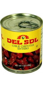 Del Sol Whole Chipotle Peppers