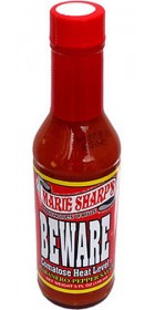 Marie Sharp's BEWARE Comatose Heat Level Habanero Pepper Sauce