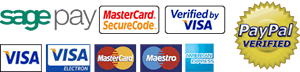 Order Online at Scorchio with your Visa, Maestro, American Express, Mastercard or Paypal
